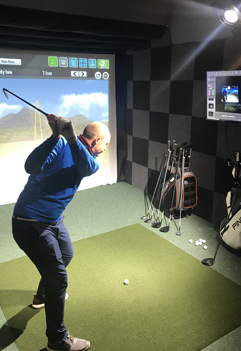 swing room in action